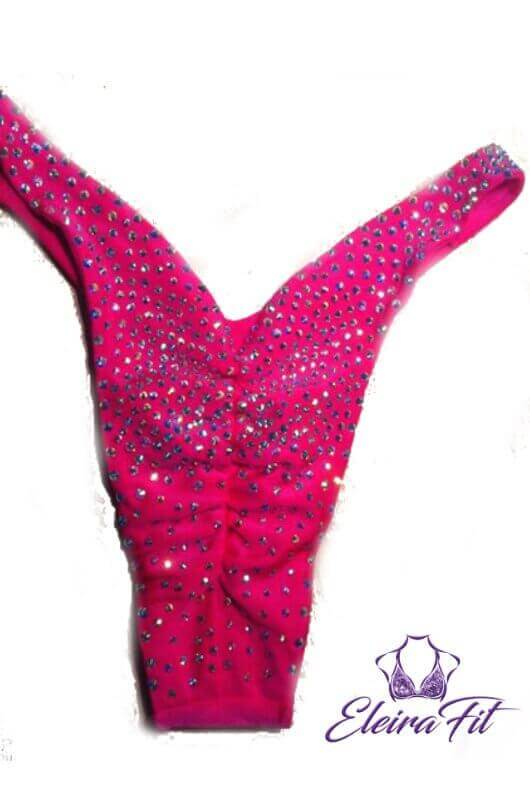 Fitness Competition Bikini Suit Pink 2
