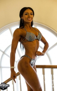 Shades of Gray Competition Bikini Suit