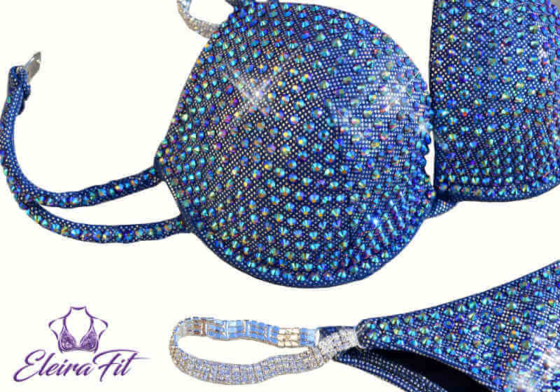 Holographic Bathing Suit Crystal Gray 4