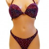 Fitness Competition Bikini in Cherry Red Color Front