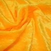 Velvet Gold Fabric for Figure Competition Suits