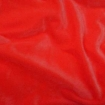 Velvet Fluo Red Fabric for Bathing Suits