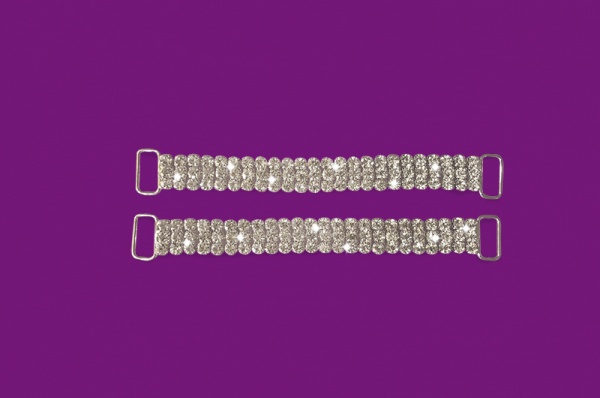 Short Top Ladder Rhinestone A/b Connectors