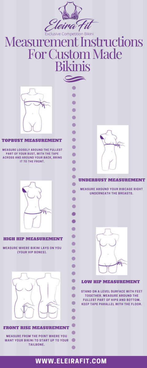 How to Take Measurements for Custom Bikinis