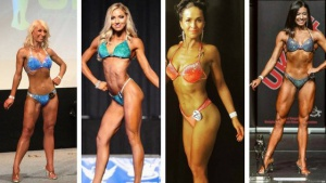 Bikini competition sponsored athletes