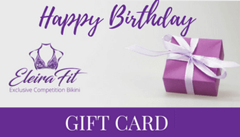 competition bikini happy birthday gift card - Happy Birthday Gift Card
